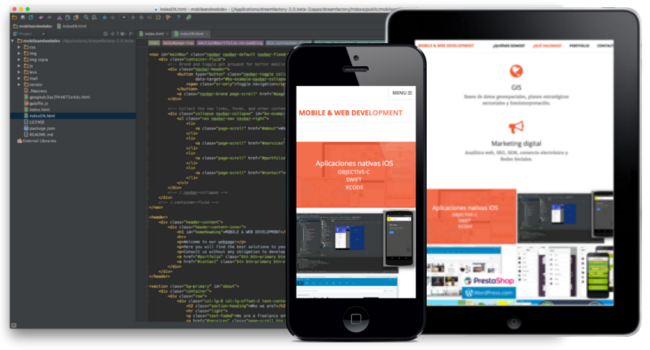 Responsive Web Bootstrap